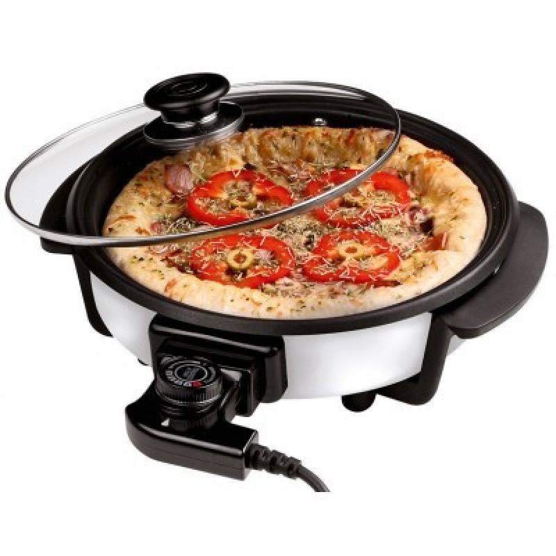 Cuisinier deluxe pizzapfanne mit glasdeckel for Cuisinier 78