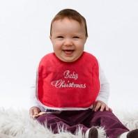 Baby's  Weihnachtslätzchen