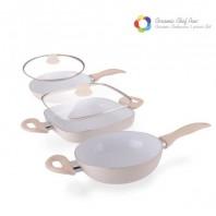 Ceramic Chefpan Elegance Edition Bratpfannen (5 teilig)