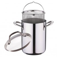 Bergner RVS Spargel- / Pasta Topf 4,2 Liter