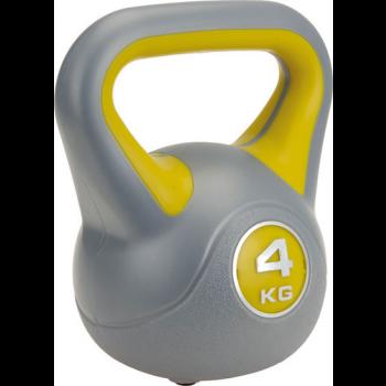 XQ Max Kettlebell Plastic 4 kg, Kugelhantel