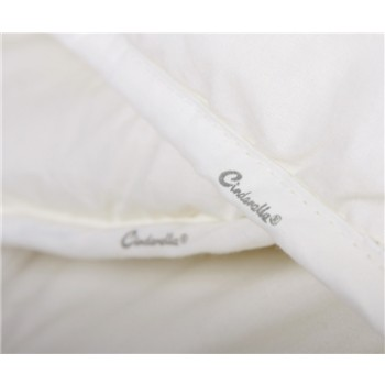 Cinderella Lana 4 Jahreszeiten Bettdecke (100% Wolle von Schafen aus Texel)