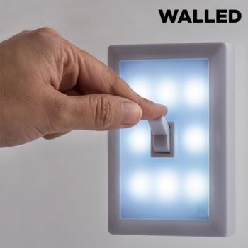 Walled LED-Lampe mit Lichtschalter SW15