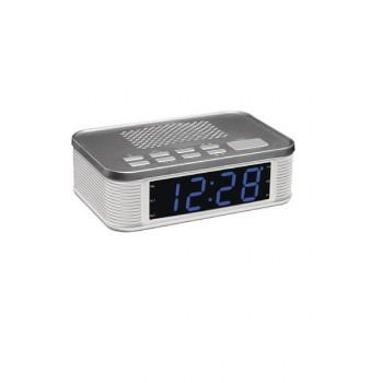 Radiowecker AM/FM schwarz/silberfarben  Balance Time